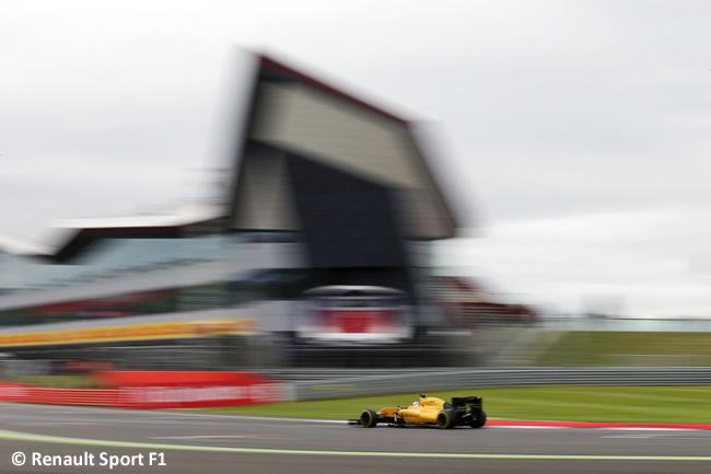 Renault - GP Gran Bretaña 2016 - Calificación