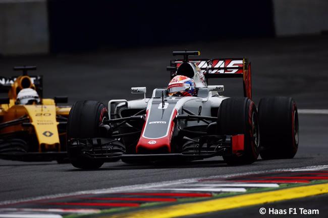 Romain Grosjean - Haas - GP Austria 2016