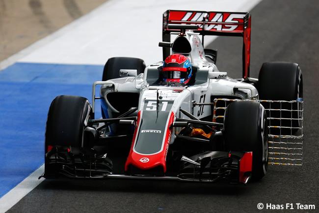 Santino Ferrucci - Haas - Test Silverstone 2016 - Día 2