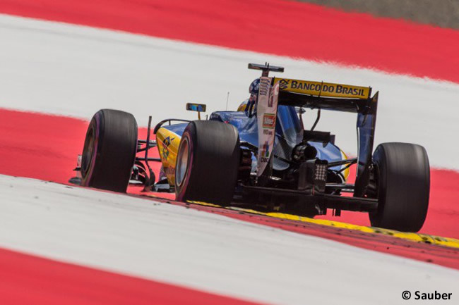 Sauber - GP Austria 2016