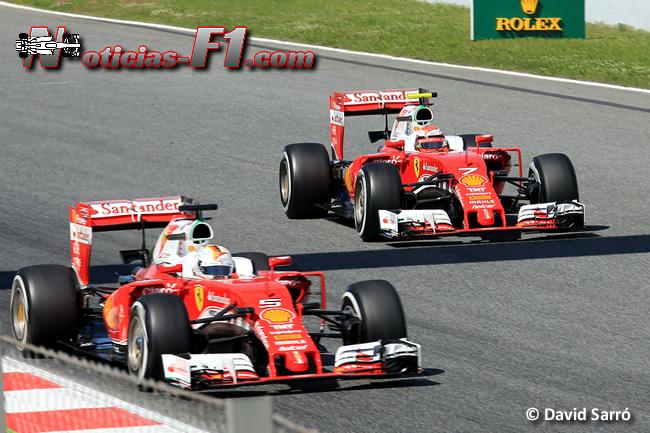 Sebastian Vettel - Kimi Raikkonen - Scuderia Ferrari - www.noticias-f1.com - David Sarró