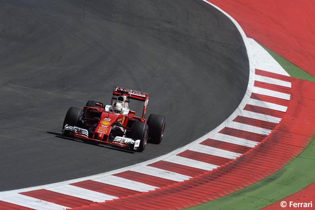 Sebastian Vettel - Scuderia Ferrari - GP Austria 2016