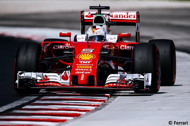 Sebastian Vettel - Scuderia Ferrari - Calificación GP Hungría 2016