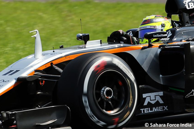 Sergio Pérez - Force India - GP Hungría 2016