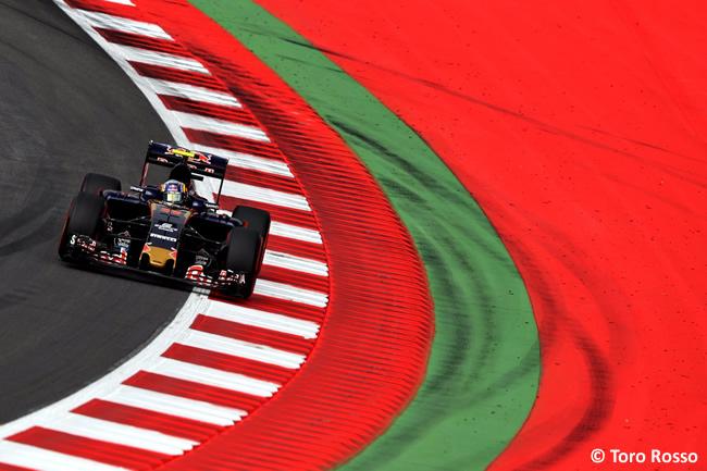 Toro Rosso - GP Austria 2016