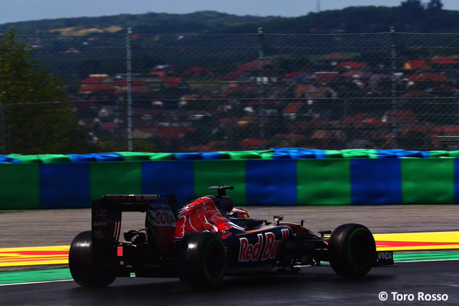 Toro Rosso - Calificación GP Hungría 2016