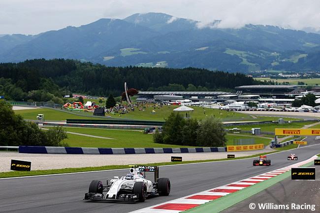 Valtteri Bottas - Williams - GP Austria 2016