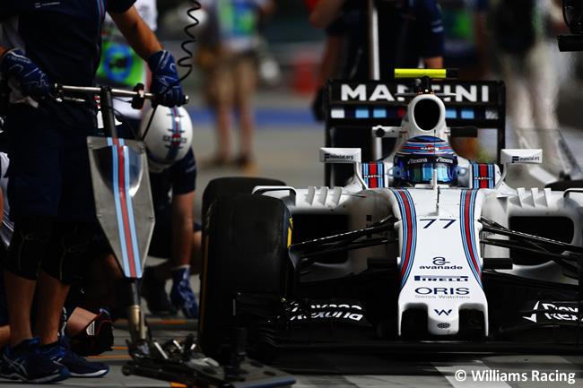 Valtteri Bottas - WIlliams- Calificación GP Hungría 2016