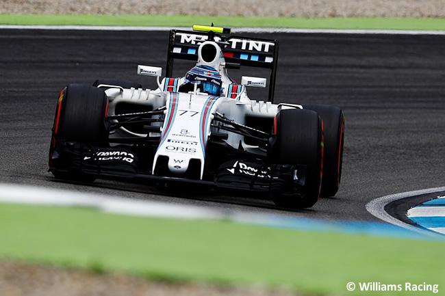 Valtteri Bottas - Williams - GP Alemania 2016 - Calificación