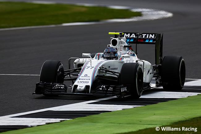 Valtteri Bottas - Williams - Gran Premio de Gran Bretaña 2016 - Entrenamientos