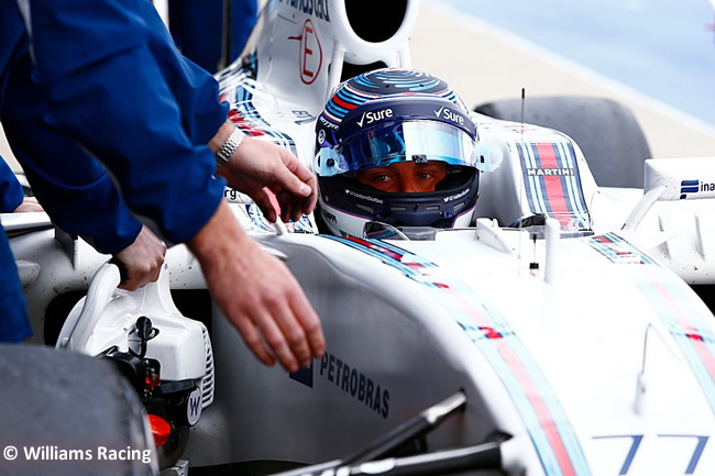 Valtteri Bottas - Williams - Test Silverstone 2016 - Día 2