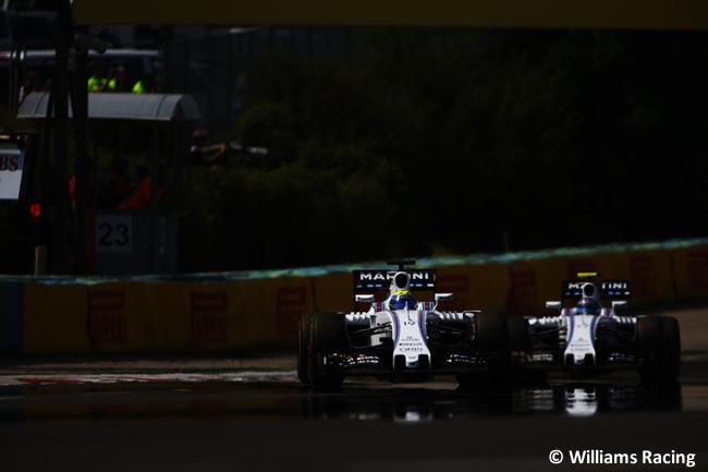 Williams - GP Hungría 2016