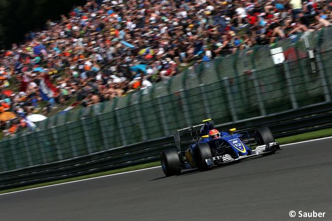 Felipe Nasr - Sauber - GP Bélgica 2016