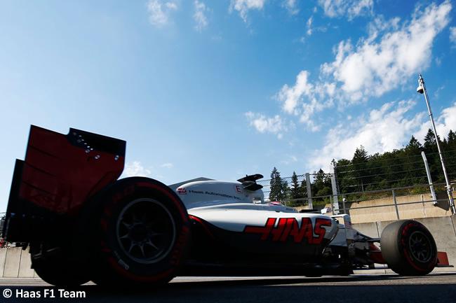 Haas - Calificación GP Bélgica 2016