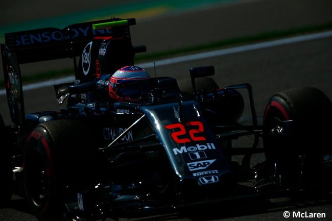 Jenson Button - McLaren - Calificación GP Bélgica 2016