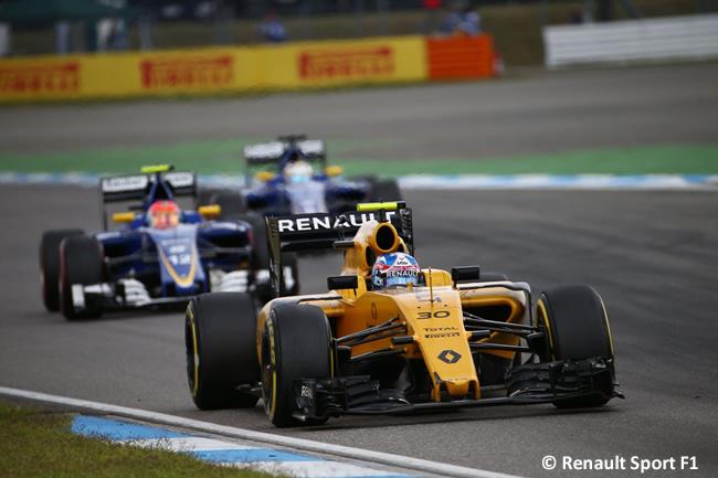 Jolyon Palmer Renault - GP Alemania 2016