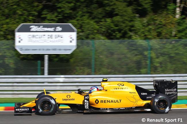 Jolyon Palmer - Renault Sport F1 - GP Bélgica 2016