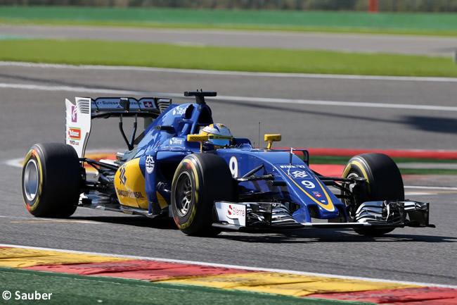 Marcus Ericsson - Sauber - GP Bélgica 2016