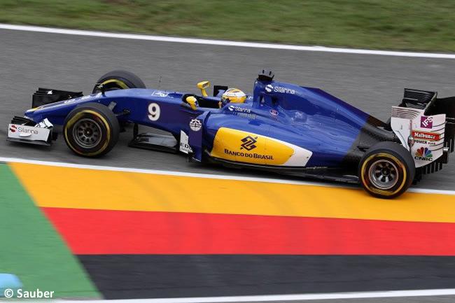 Marcus Ericsson - Sauber - GP Alemania 2016