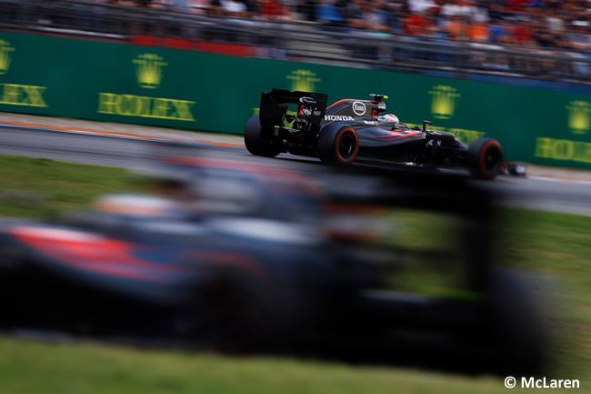McLaren - GP Alemania 2016