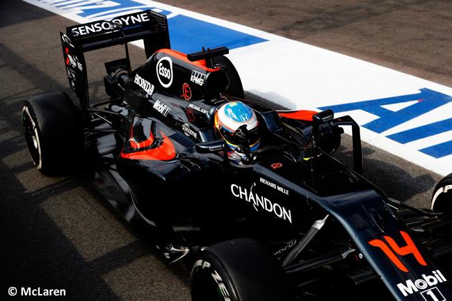 McLaren - GP Bélgica 2016