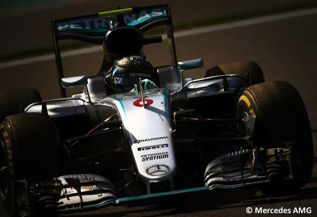 Nico Rosberg - Mercedes - GP Bélgica 2016