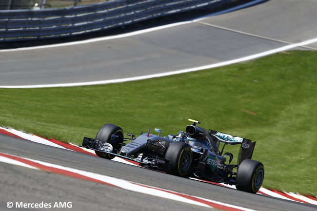Nico Rosberg - GP Bélgica 2016