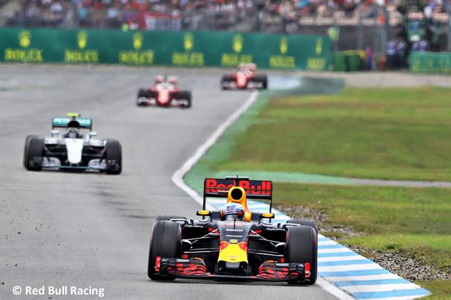 Red Bull - GP Alemania 2016