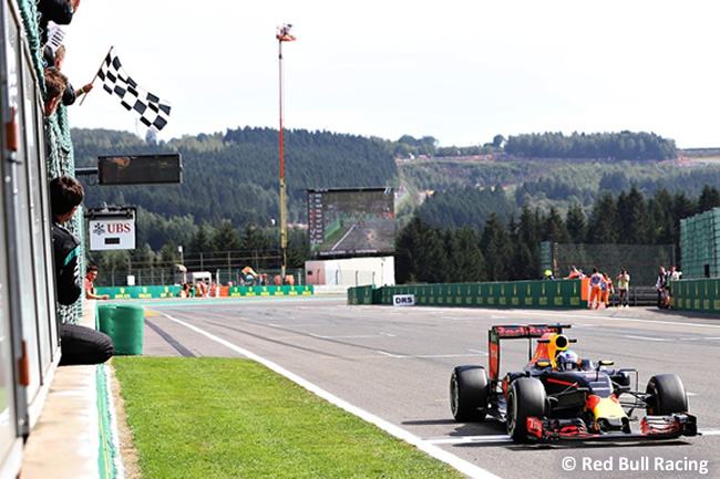 Red Bull - GP Bélgica 2016
