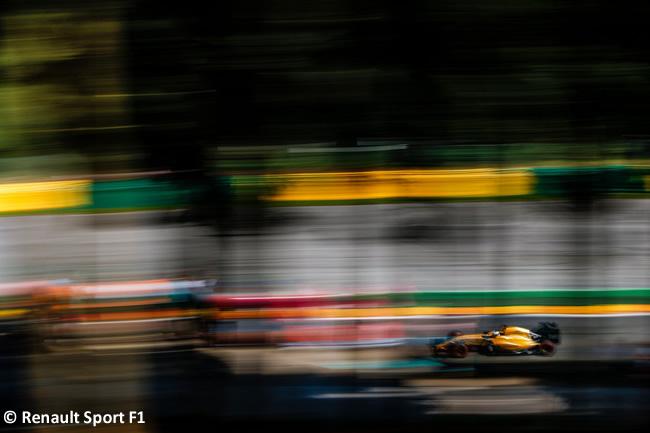 Renault - Calificación GP Bélgica 2016