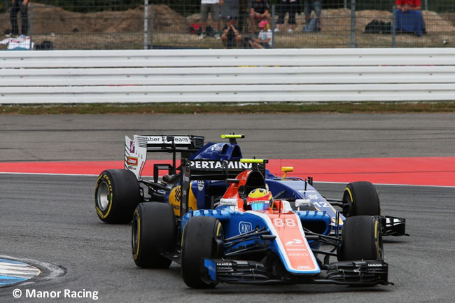 Rio Haryanto - Manor - GP Alemania 2016