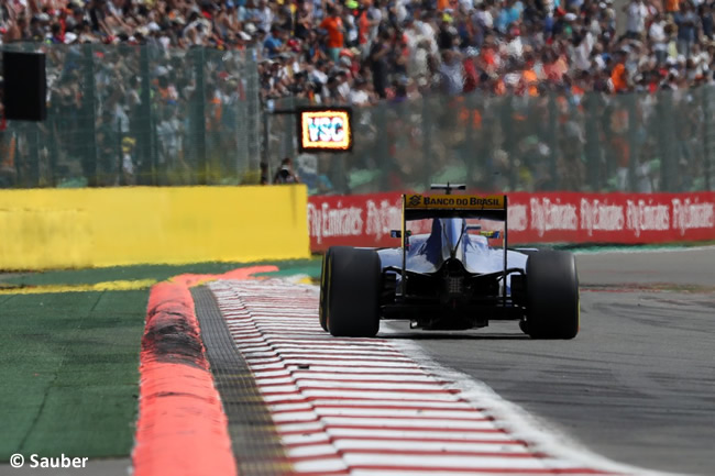Sauber - GP Bélgica 2016
