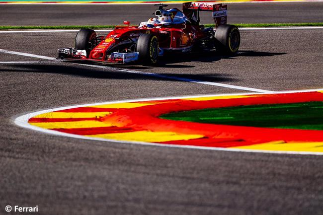 Sebastian Vettel - Scuderia Ferrari - GP Bélgica 2016