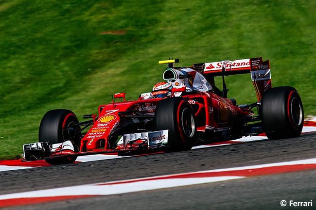 Sebastian Vettel - GP Bélgica 2016
