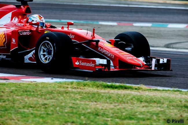 Sebastian Vettel - Ferrari - Test Pirelli - Fiorano 2017