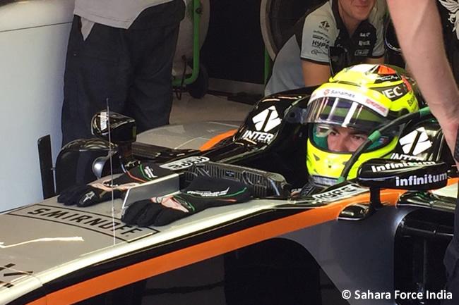 Force India - Calificación GP Bélgica 2016