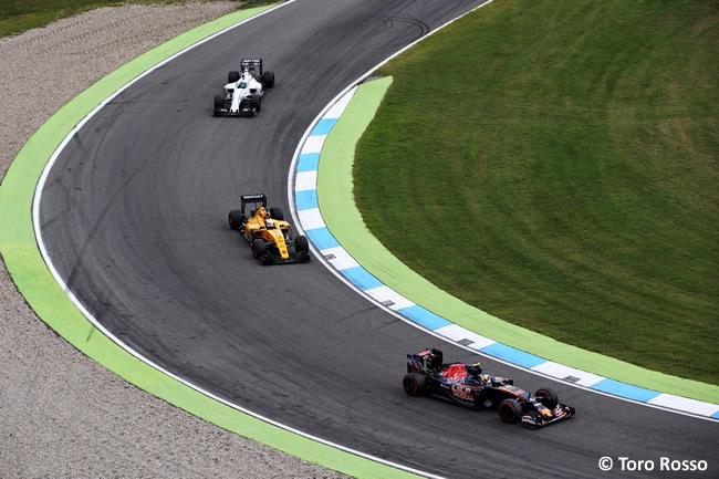 Toro Rosso - GP Alemania 2016