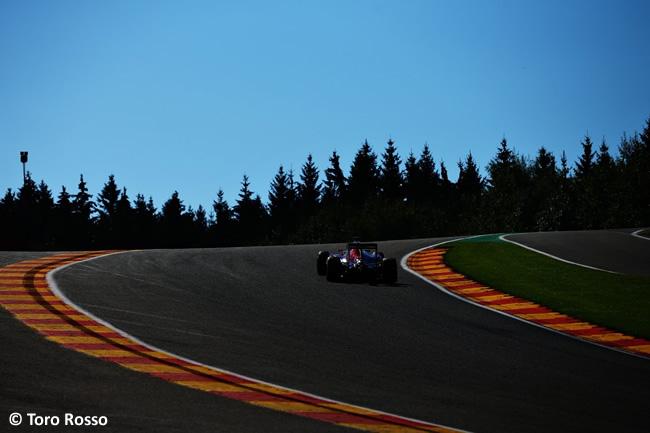 Toro Rosso - GP Bélgica 2016