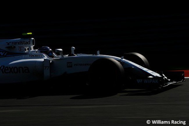 Williams - Calificación GP Bélgica 2016