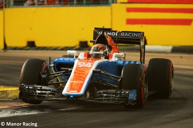 Pascal Wehrlein - Manor - GP Singapur 2016