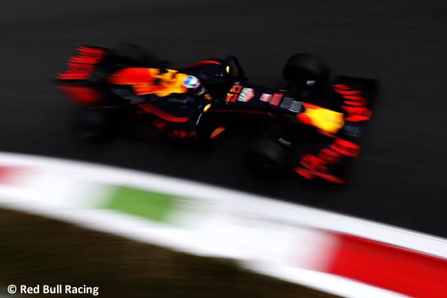 Daniel Ricciardo - Red Bull Racing - GP Italia - Monza 2016 - Viernes