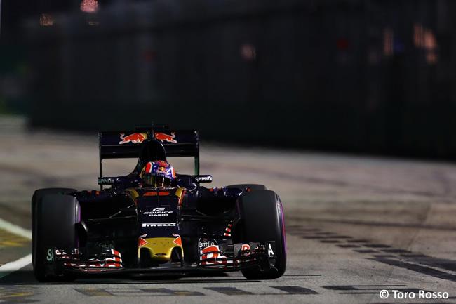 Daniil Kvyat - Toro Rosso - Carrera - GP Singapur 2016