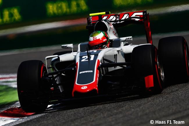 Esteban Gutiérrez - Haas F1 - GP Italia - Monza 2016 - Sábado
