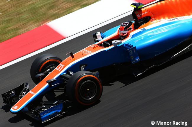 Esteban Ocon - Manor Racing - GP Malasia 2016