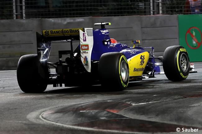 Felipe Nasr - Sauber - Carrera - GP Singapur 2016