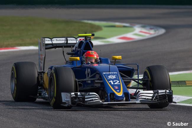 Felipe Nasr - Sauber - GP Italia - Monza 2016 - Viernes