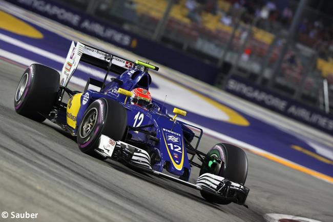 Felipe Nasr - Sauber - GP Singapur 2016