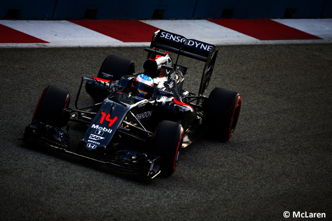 Fernando Alonso - McLaren - GP Singapur 2016