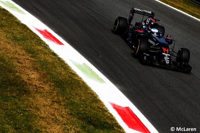 Fernando Alonso - McLaren - GP Italia - Monza 2016 - Viernes