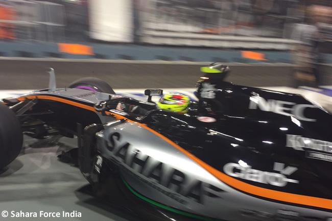 Force India - GP Singapur 2016